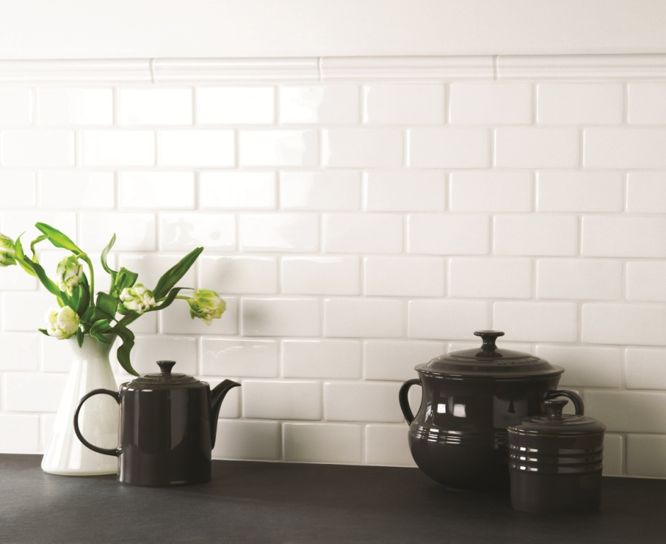 The Winchester Tile Company Classic Collection Pure White Field And