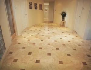 Travertine - Umbrian Gold Octogon