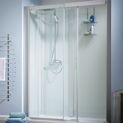 Self Contained Showering Cubicle